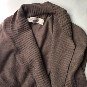 Emmelee brown cardigan